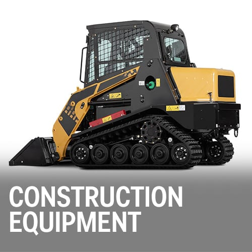 Construction Equipment Body Panels, housings, diesel fuel tanks, controls and enclosures
