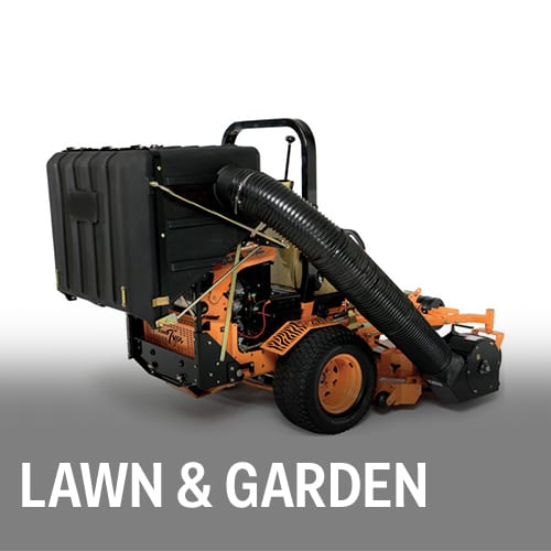 Lawn & Garden equipment, fuel tanks, hydraulic tanks, housings, and more.