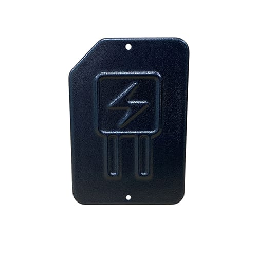 Thermoformed ABS electrical panel cover