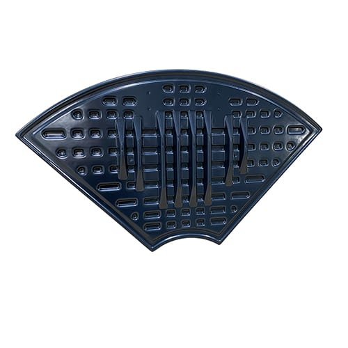 Thermoformed vacuum formed pontoon boat seat bottom