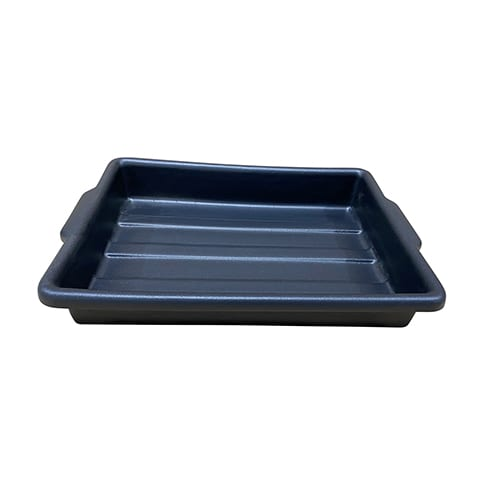 Thermoformed vacuum formed tray
